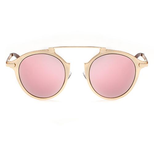 Euramerican Round-shaped Frame Design Pink PC Sung