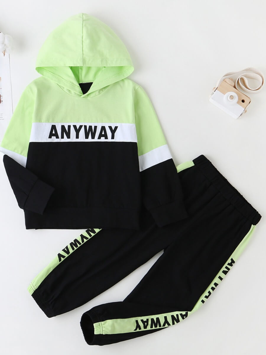 Lovely Sportswear Hooded Collar Print Patchwork Bl