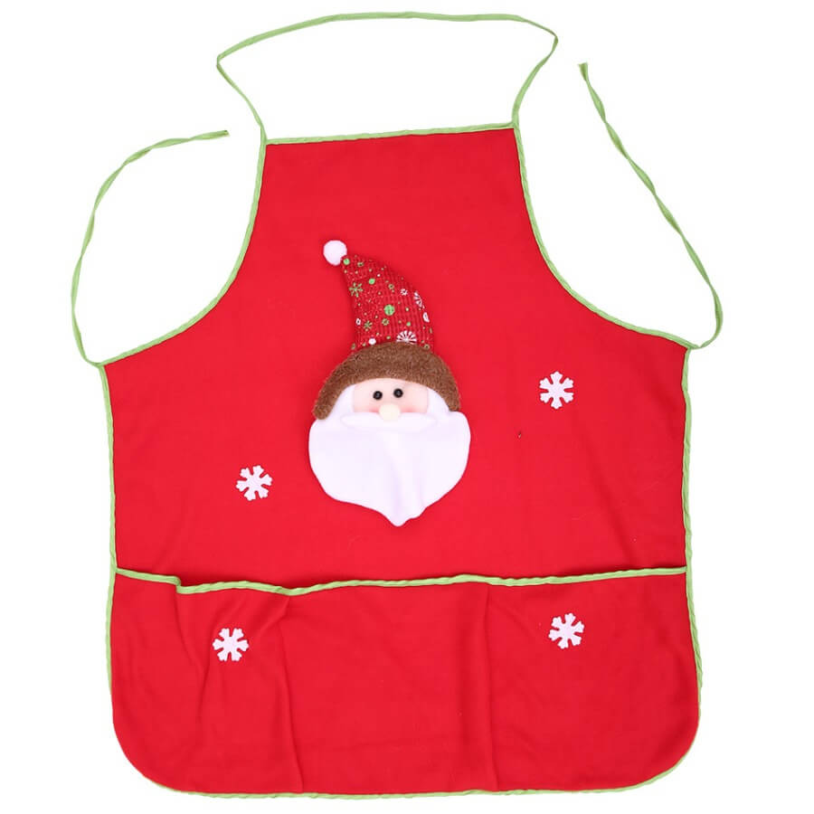 Lovely Stylish Print Red Aprons