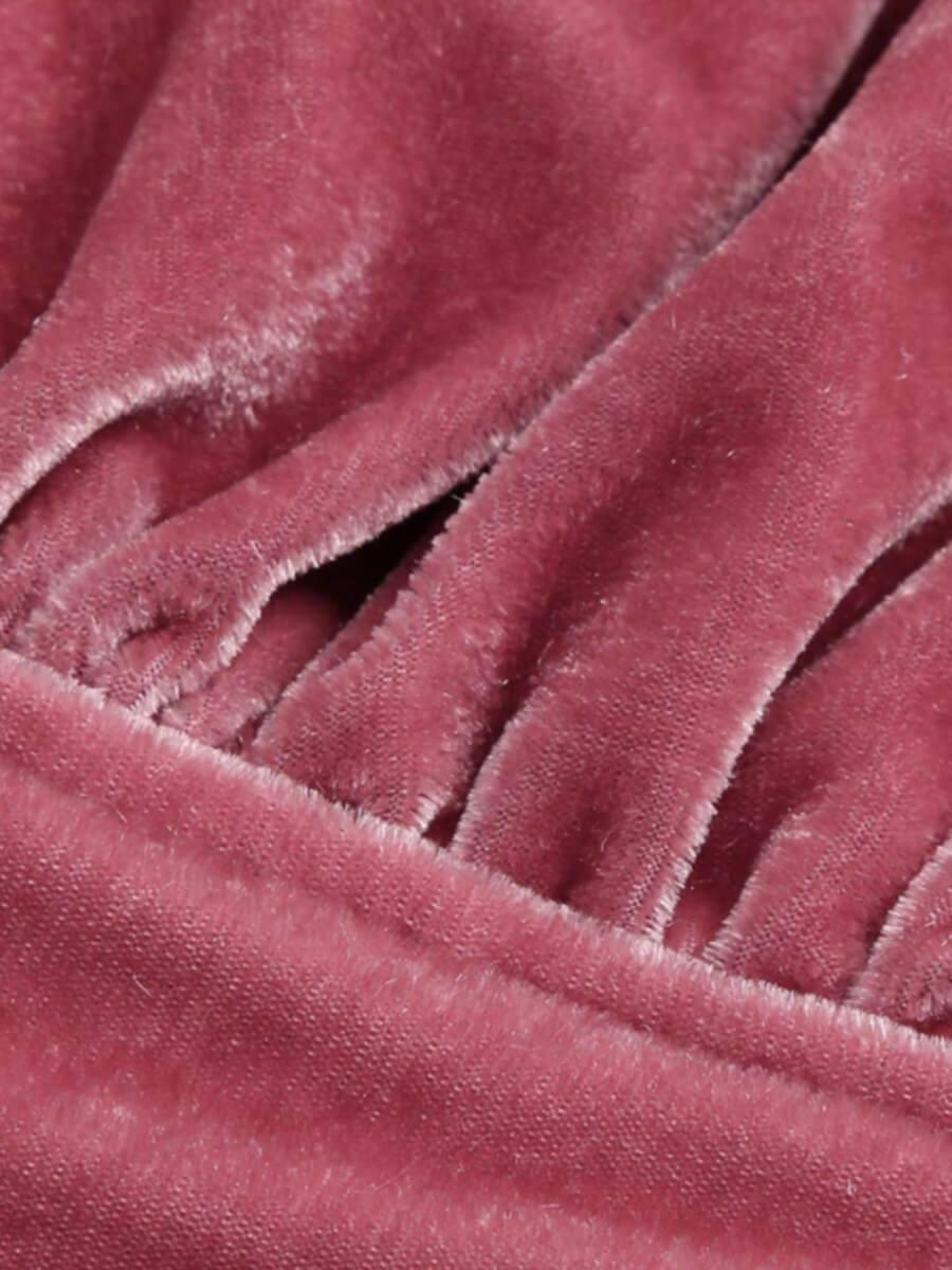 Lovely Home Style Spaghetti Strap Pink Sleepwear